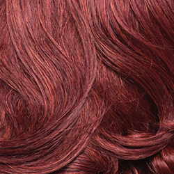 Sunset Red Color Wig