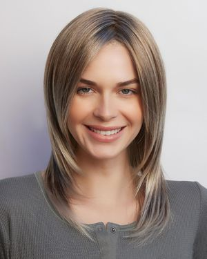 Reed Lace Front & Monofilament Synthetic Wig by Amore