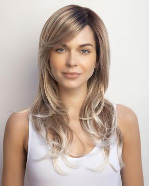 Royce (Exclusive) Lace Front & Monofilament Synthetic Wig by Amore