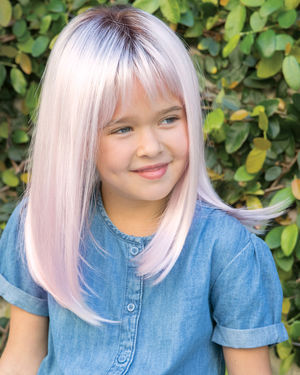 Miley Lace Front & Monofilament Top Synthetic Wig by Amore