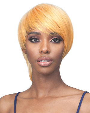 Stevie Average/Large Monofilament Crown Synthetic Wig by Bobbi Boss