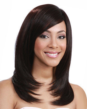 Asia Human Hair Blend Wig by Bobbi Boss