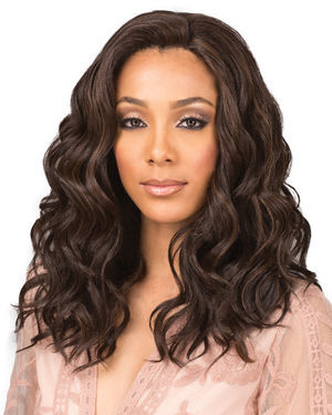 Tamia Lace Front Human Hair Blend Wig by Bobbi Boss