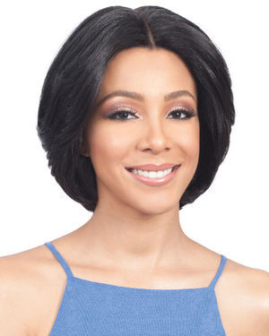 Ria Lace Front Human Hair Blend Wig by Bobbi Boss