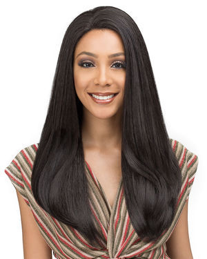 Solana Lace Front Human Hair Blend Wig by Bobbi Boss
