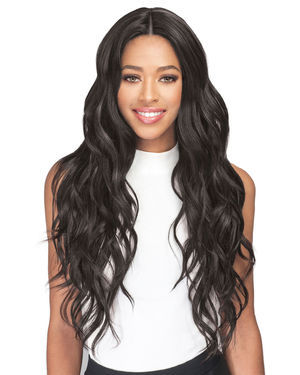 Freya Lace Front Human Hair Blend Wig by Bobbi Boss