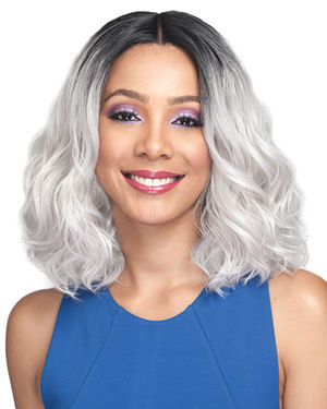Lacina Lace Front Human Hair Blend Wig by Bobbi Boss