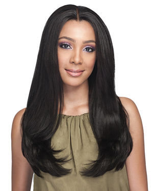 Mushiya Lace Front Human Hair Blend Wig by Bobbi Boss