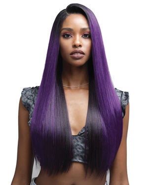 Dayana Lace Front Human Hair Blend Wig by Bobbi Boss