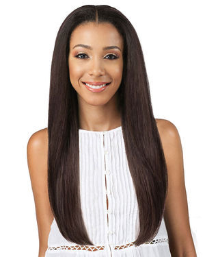 Zia Lace Front Human Hair Blend Wig by Bobbi Boss