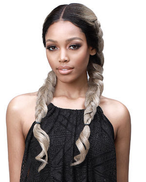 Sana Lace Front Human Hair Blend Wig by Bobbi Boss