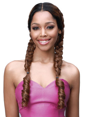 Jolene Lace Front Human Hair Blend Wig by Bobbi Boss