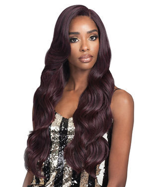 Mikayla Lace Front Human Hair Blend Wig by Bobbi Boss
