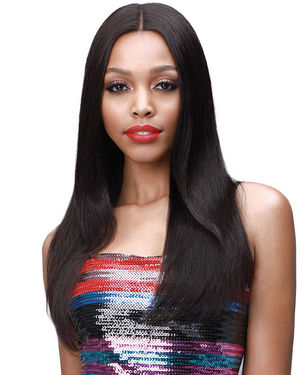 Eudora Average/Large Lace Front Remy Human Hair Wig by Bobbi Boss