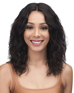 Nisa Lace Front Remy Human Hair Wig by Bobbi Boss
