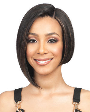 HH Nadine Short Lace Front Human Hair Wig by Bobbi Boss