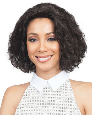 Amalia Lace Front Remy Human Hair Wig by Bobbi Boss