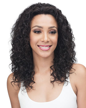 Emory Average/Large Lace Front Remy Human Hair Wig by Bobbi Boss