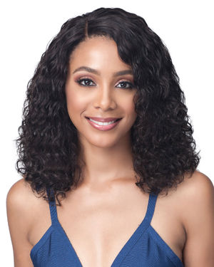 Water Curl 16 Lace Front Human Hair Wig by Bobbi Boss
