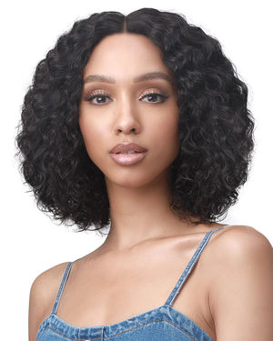 Tashana Average/Large Lace Front Human Hair Wig by Bobbi Boss