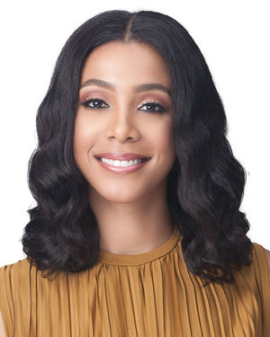 Ariana Average/Large Lace Front Human Hair Wig by Bobbi Boss