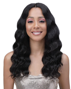 Dia Average/Large Lace Front Human Hair Wig by Bobbi Boss