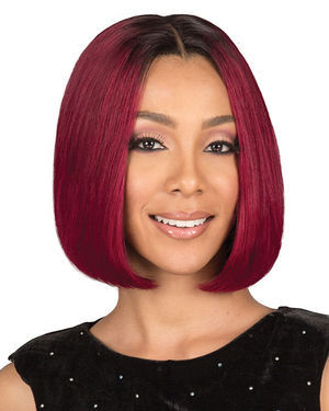 Ema Natural Lace Front Remy Human Hair Wig by Bobbi Boss