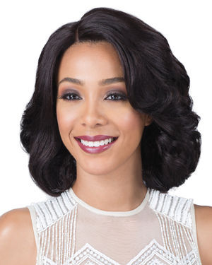 Carli Lace Front Remy Human Hair Wig by Bobbi Boss