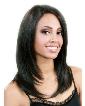 MHLF B Lace Front Human Hair Wig by Bobbi Boss