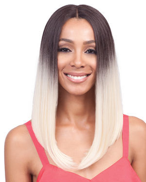 Lyna Long Lace Front Synthetic Wig by Bobbi Boss