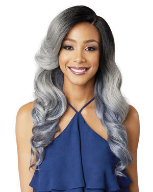 Nuru Lace Front Synthetic Wig by Bobbi Boss