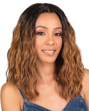 Rina Lace Front Synthetic Wig by Bobbi Boss