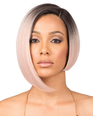 Nadine Short Lace Front Synthetic Wig by Bobbi Boss