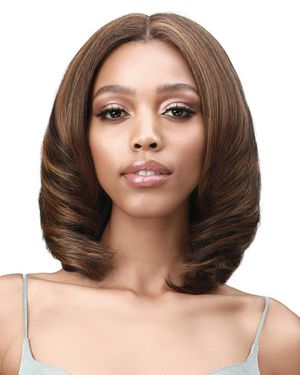 Afia Average/Large Lace Front Synthetic Wig by Bobbi Boss