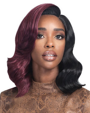 Perla Lace Front Synthetic Wig by Bobbi Boss
