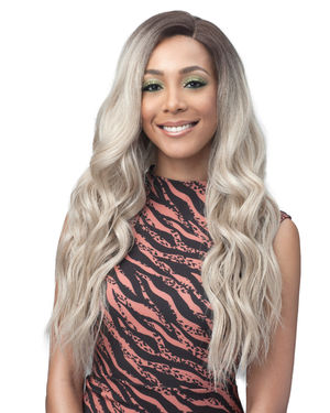 Lara Average/Large Lace Front Synthetic Wig by Bobbi Boss