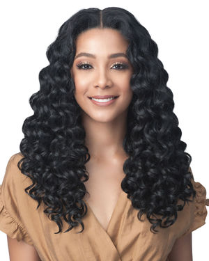 Lourdes Average/Large Lace Front Synthetic Wig by Bobbi Boss