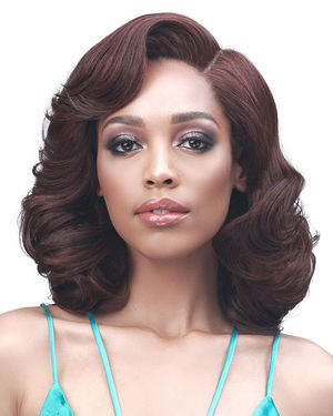 Wan Lace Front Synthetic Wig by Bobbi Boss