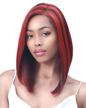 Jodi Average/Large Lace Front Synthetic Wig by Bobbi Boss