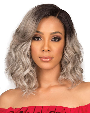 Nya Faith Lace Front Synthetic Wig by Bobbi Boss