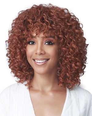 Halle Human Hair Blend Wig by Bobbi Boss