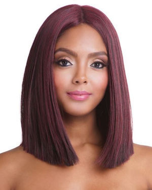 BS134 Lace Part Human Hair Blend Wig by Brown Sugar