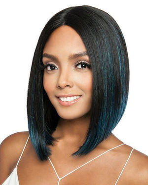 BS1501 Lace Part Human Hair Blend Wig by Brown Sugar