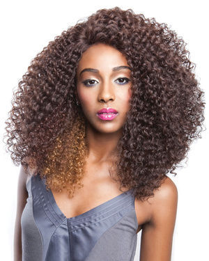 BS204 Lace Front Human Hair Blend Wig by Brown Sugar
