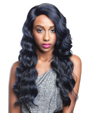 BS205 Lace Front Human Hair Blend Wig by Brown Sugar