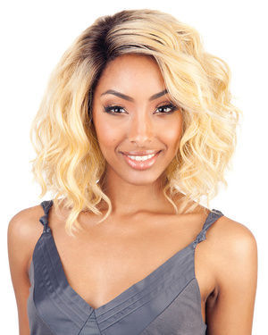 BS206 Lace Front Human Hair Blend Wig by Brown Sugar