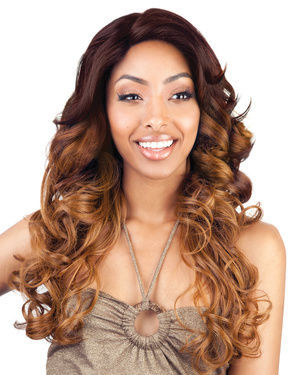 BS207 Lace Front Human Hair Blend Wig by Brown Sugar