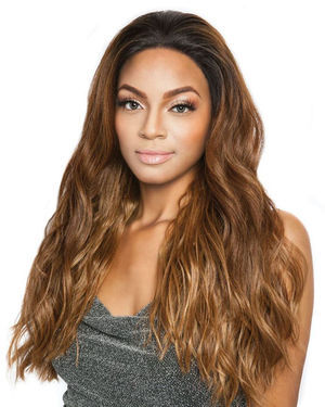 Vine Lace Front Human Hair Blend Wig by Brown Sugar