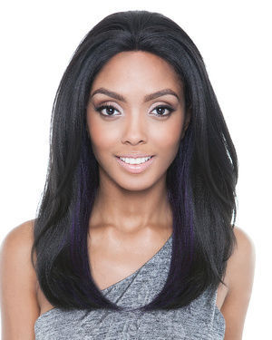 Twinkle Lace Front Human Hair Blend Wig by Brown Sugar