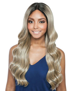 Philly Ari Lace Front Human Hair Blend Wig by Brown Sugar